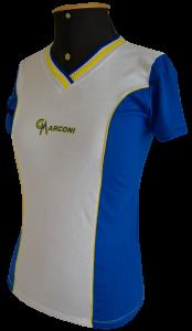 uniforme escola camiseta branca azul